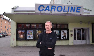 FARVEL TIL CAROLINE KINO: Jarle Bjerkestrand har jobbet ved Caroline Kinosenter i Kristiansund siden våren 1990. Foto: John Berge, KINOMAGASINET.no ©