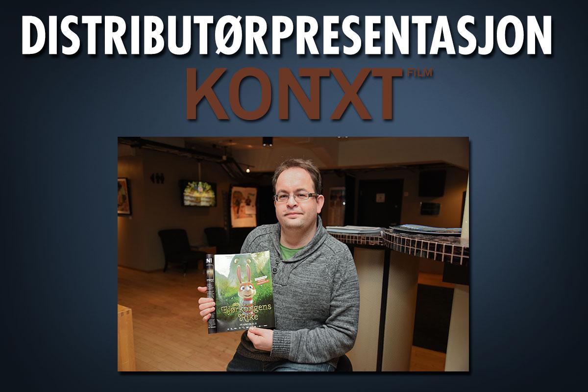Stig Brekke, filmentusiasten som har drevet sitt eget barnefilmbaserte distribusjonsselskap siden 2012. Foto: John Berge, KINOMAGASINET © Montasje: Per Mork.