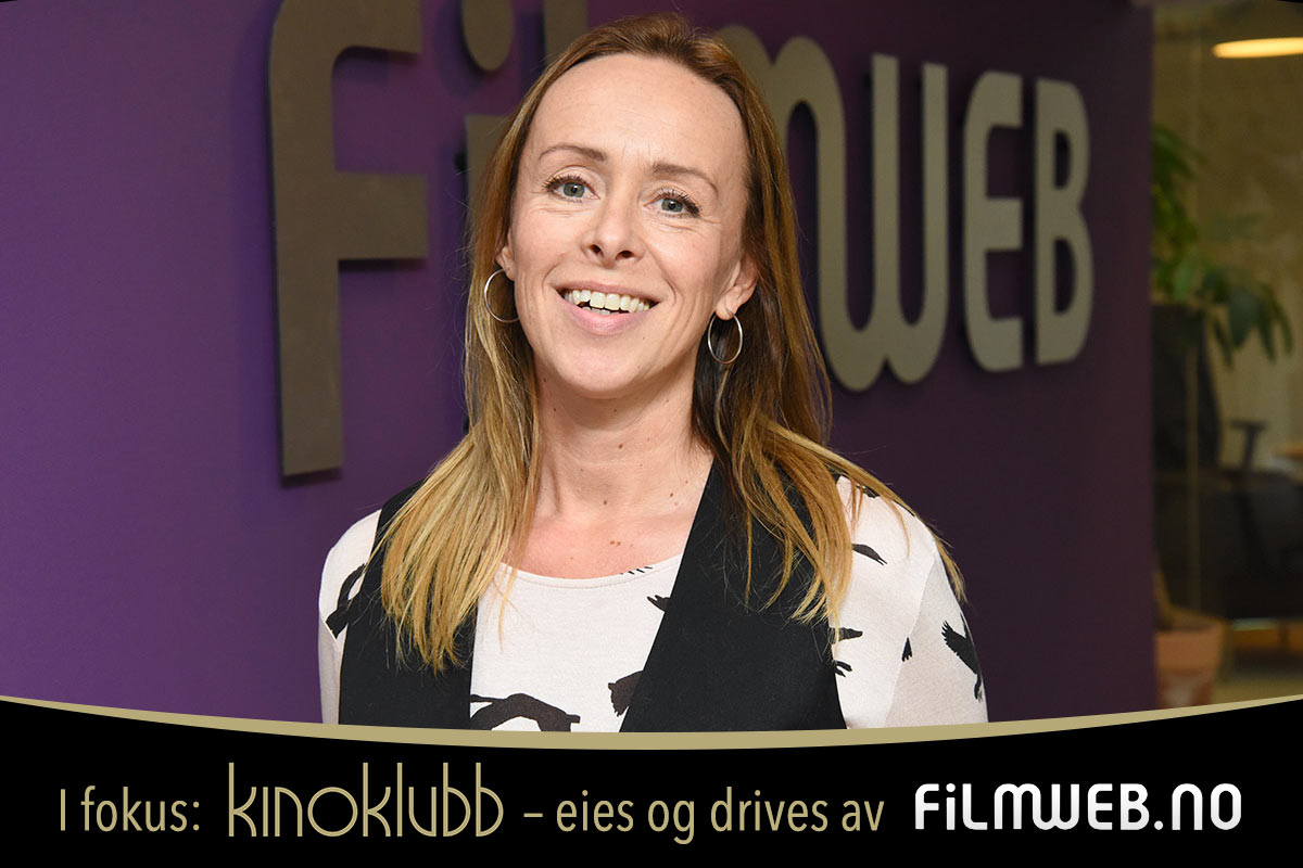 Daglig leder Elisabeth Brinch i Kinoklubb Norge. Foto: John Berge, KINOMAGASINET ©