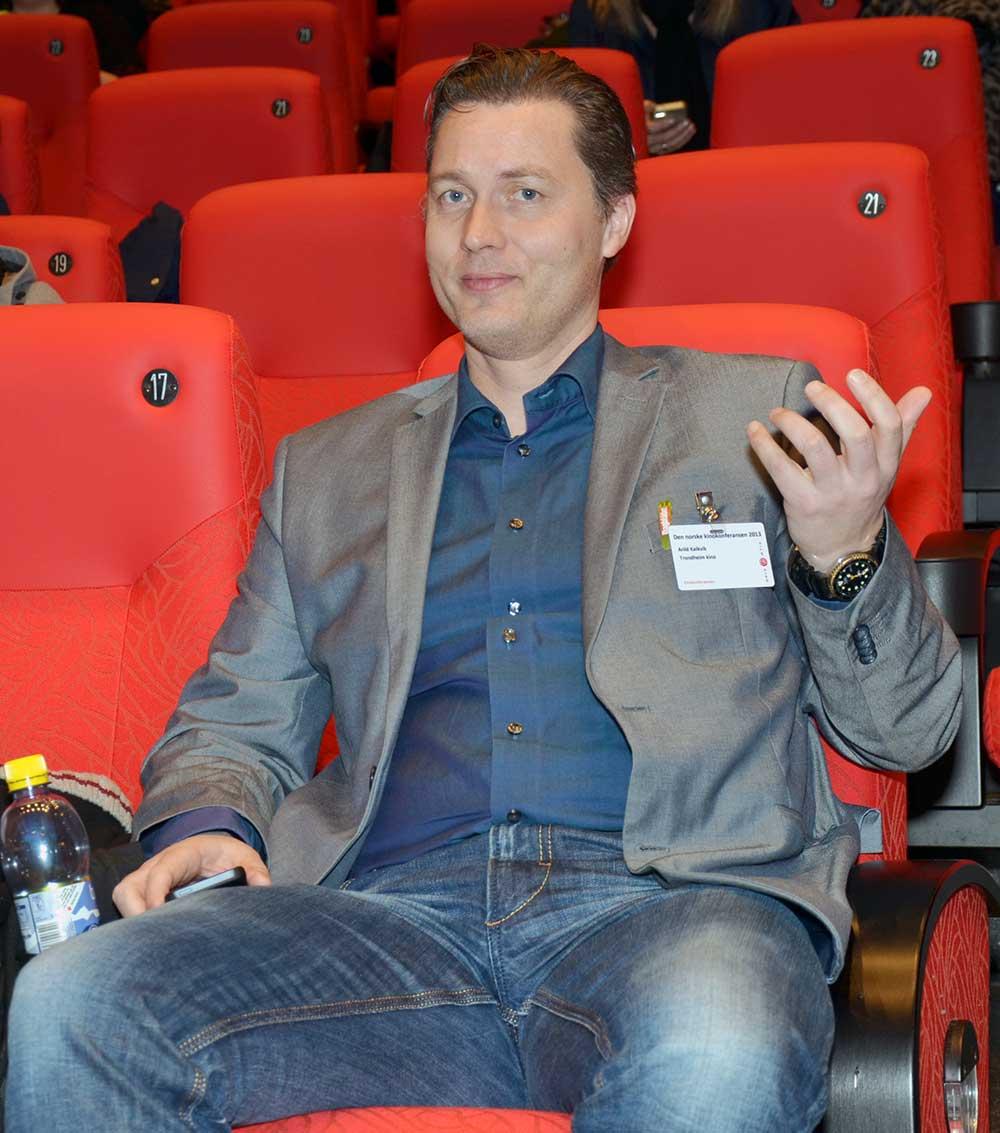 Trondheims kinodirektør Arild Kalkvik. Foto: John Berge
