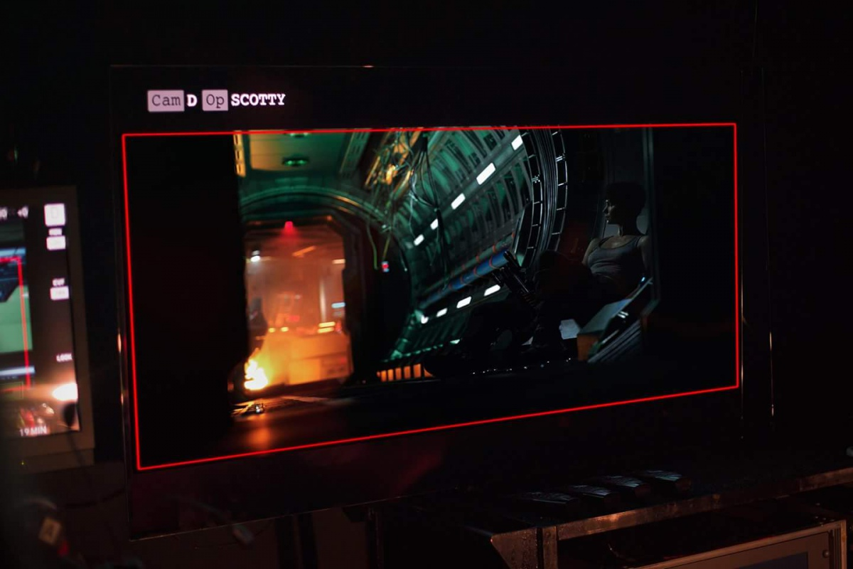Katherine Waterston i Alien: Covenant. Foto: 20th Century Fox