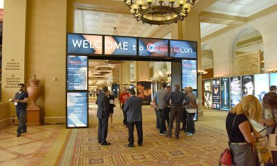 «Welcome to CinemaCon 2015». Foto: John Berge