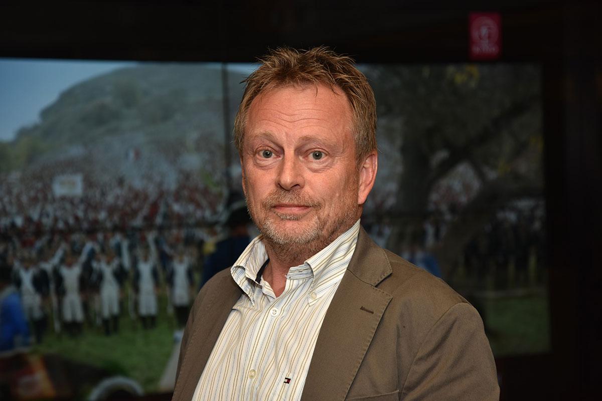Kinosjef Espen Jørgensen hos Hamar Kino. Foto: John Berge, KINOMAGASINET.no ©