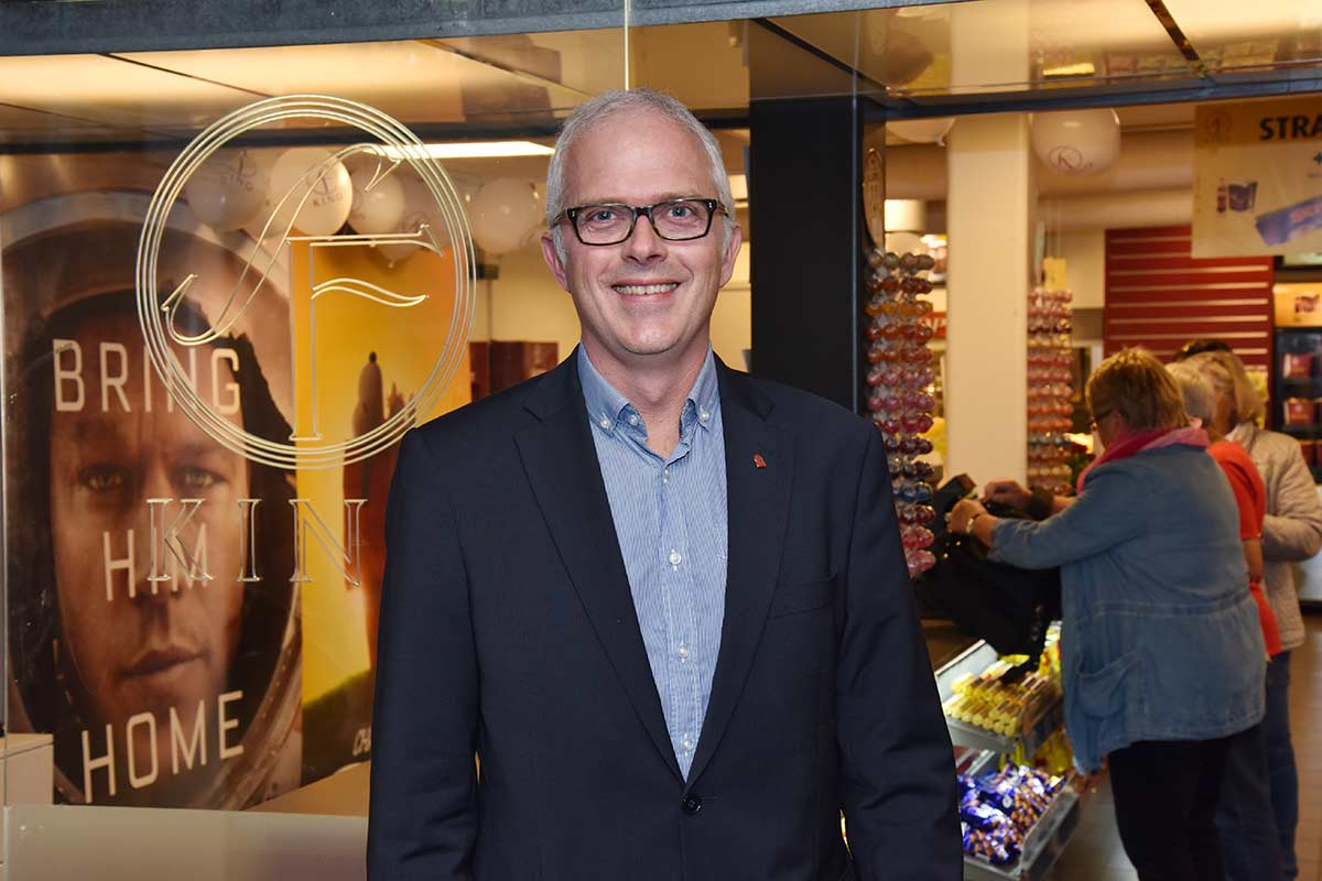 Jon Einar Sivertsen, Chief Operating Officer hos SF Kino i Norge. Foto: John Berge, KINOMAGASINET.no