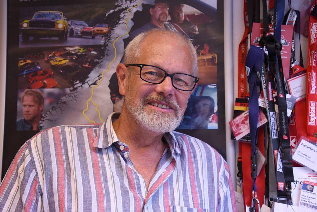 Filmsjef Øyvind Berge i SF Norge. Foto: John Berge