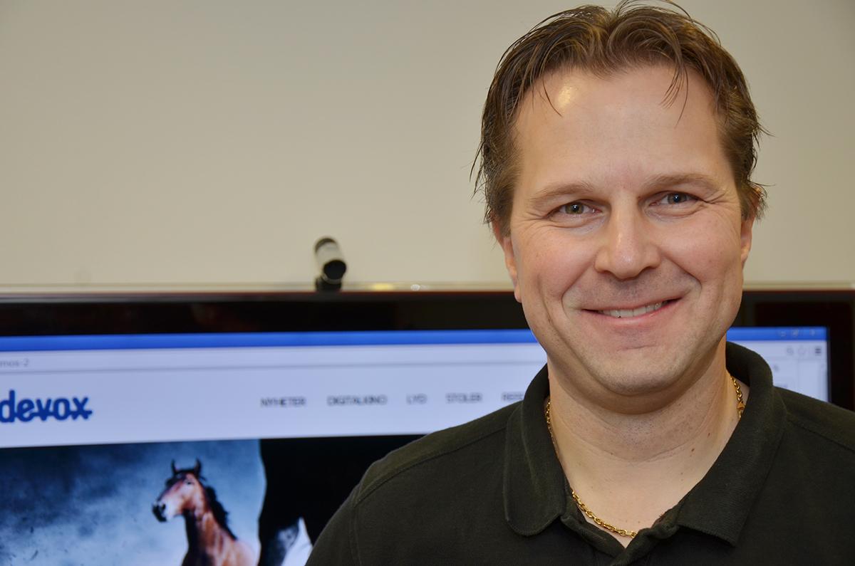 SLUTTER: Teknisk sjef Ole Henrik Kristiansen i Videovox. Foto: John Berge, KINOMAGASINET.no