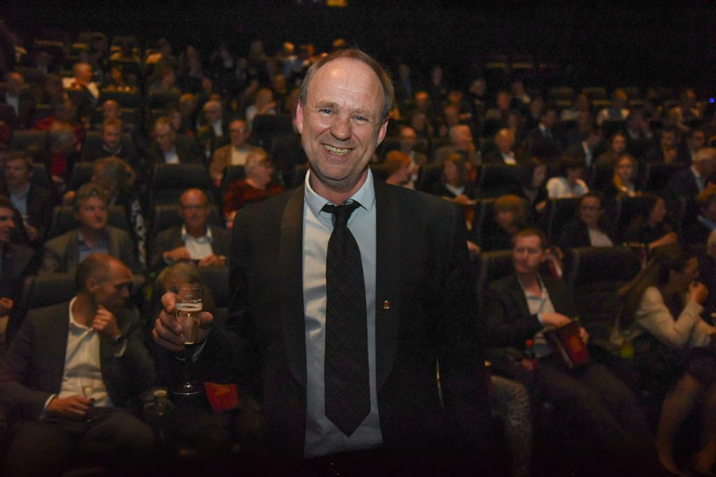 Senterleder Rolf Øvretveit hos SF Kino Sotra. Foto: John Berge