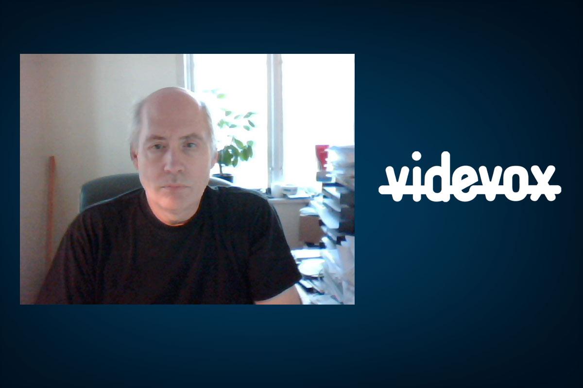 Ulf Hellberg er gründeren bak Videvox. Foto: Videvox.