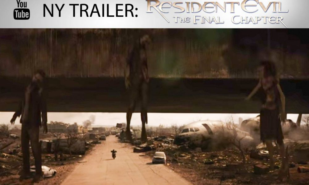 Resident Evil The Final Chapter 24: Ny Trailer: Resident Evil: The Final Chapter