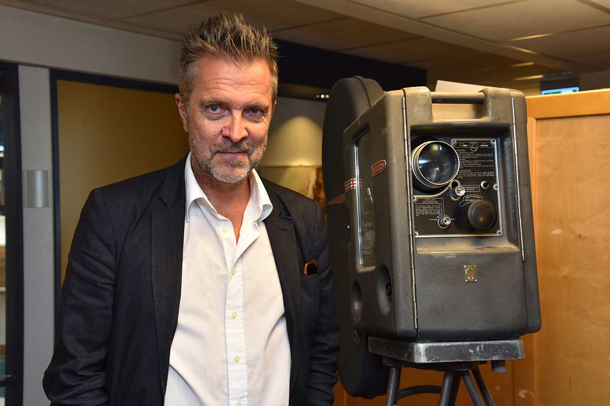 Guttorm Petterson er adm. direktør i Film & Kino. Foto: John Berge, KINOMAGASINET ©