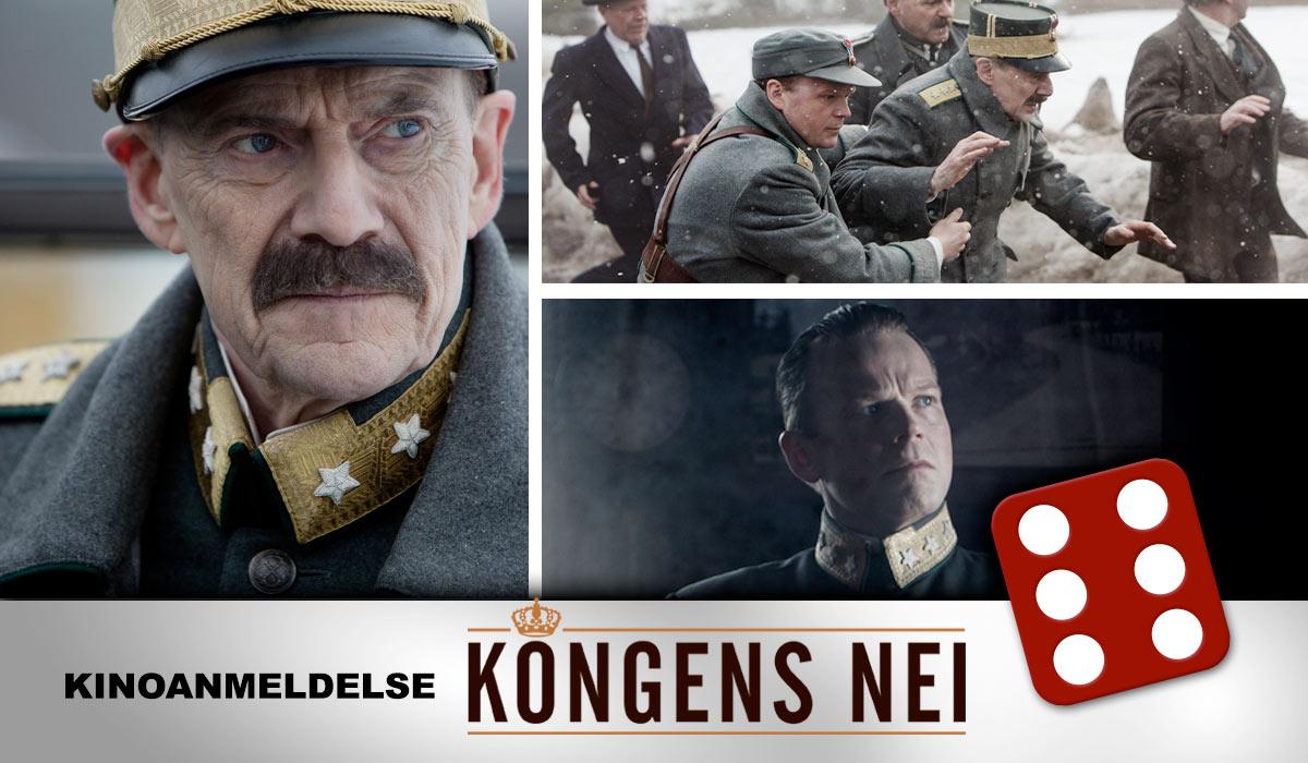 ET NORSK MESTERVERK: Vår anmelder ble svært imponert og grepet av Kongens nei, og kunne ikke annet enn å gi filmen terningkast seks.