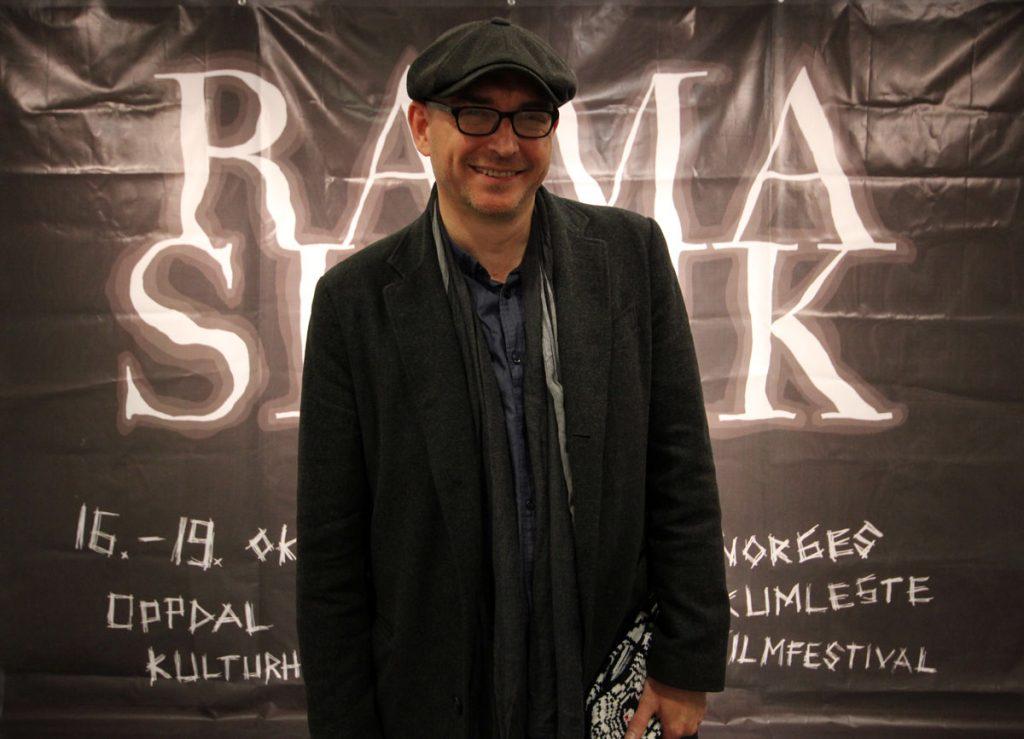 Regissør Steve Barker kom fra Storbritannia for å presentere sin siste film The Rezort.