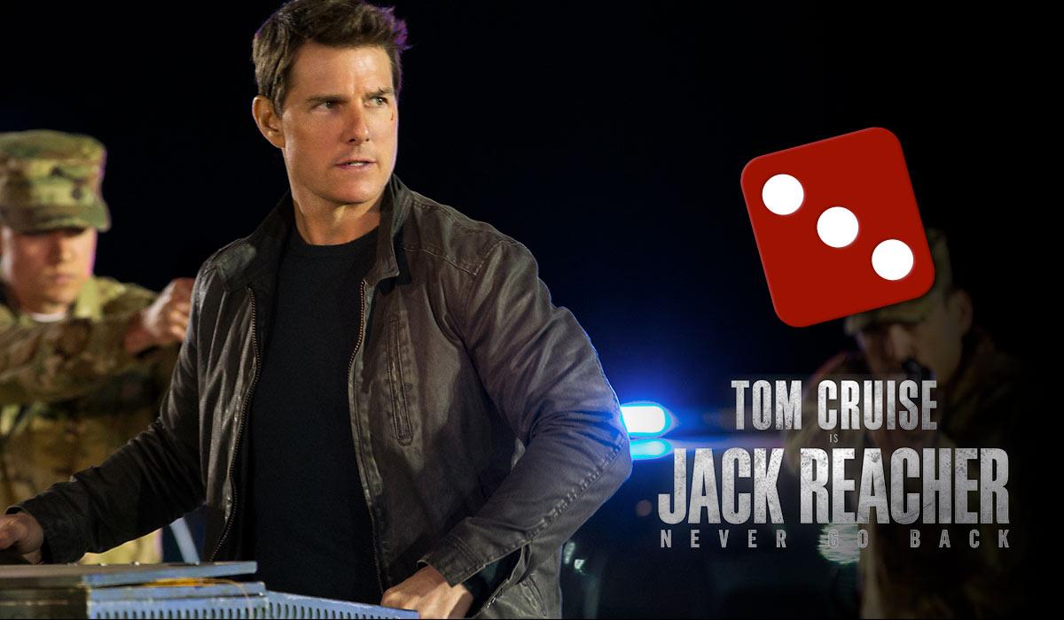Jack Reacher: Vend aldri tilbake fikk terningkast tre av KINOMAGASINETs anmelder.