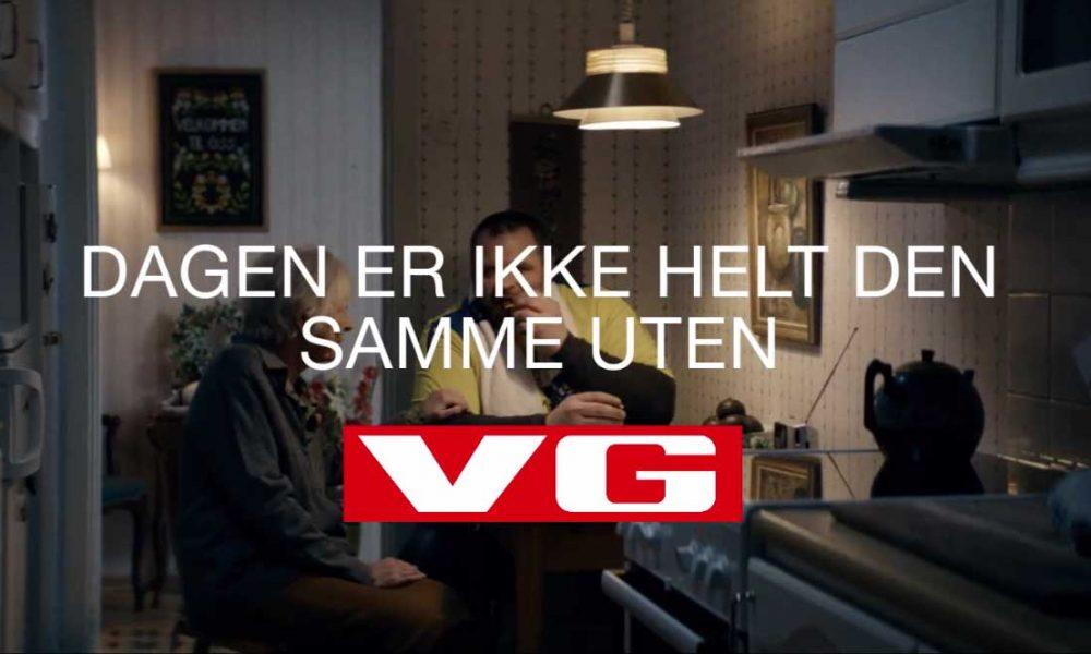 VGs reklamefilm – «Etterlengtet nederlag» - er kåret til den beste kinoreklamen i det tredje kvartalet i 2016.