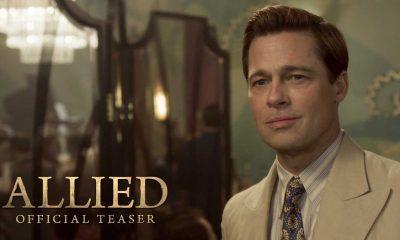 Brad Pitt som Max Vatan i Allied.