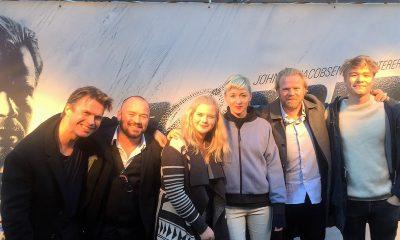 Fra festpremieren på Børning 2 i Nova Trondheim Kino søndag 9. oktober. Foto: Filmkameratene