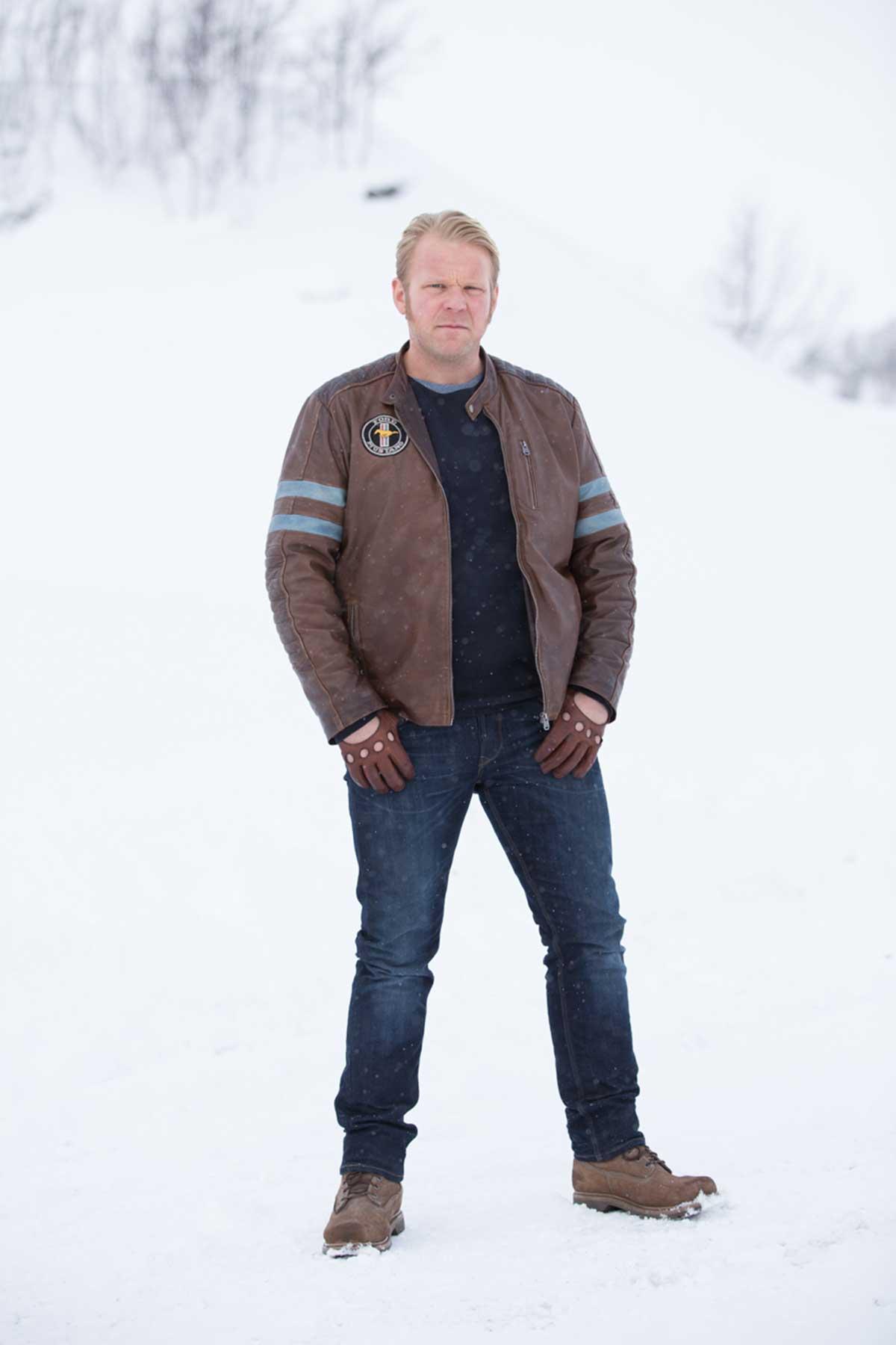 Anders Baasmo Christiansen (t.h.) i rollen som Roy Gundersen i Børning 2. Foto:EirikEvjen/Filmkameratene