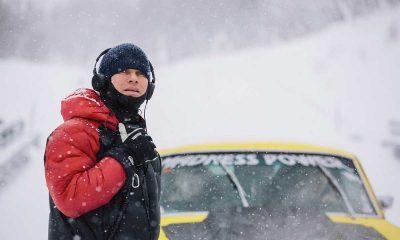 Regissør Hallvard Bræin (t.v.) i aksjon under innspillingen. Foto: Eirik Evjen, Filmkameratene.
