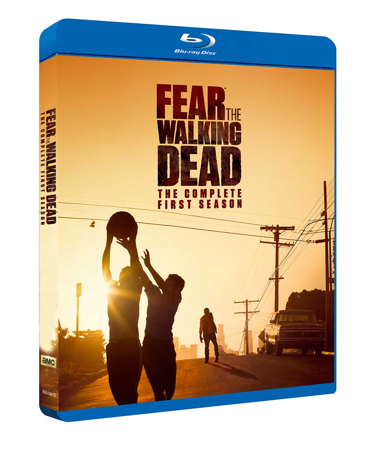 Fear The Walking Dead: sesong 1 Blu-ray-omslag.