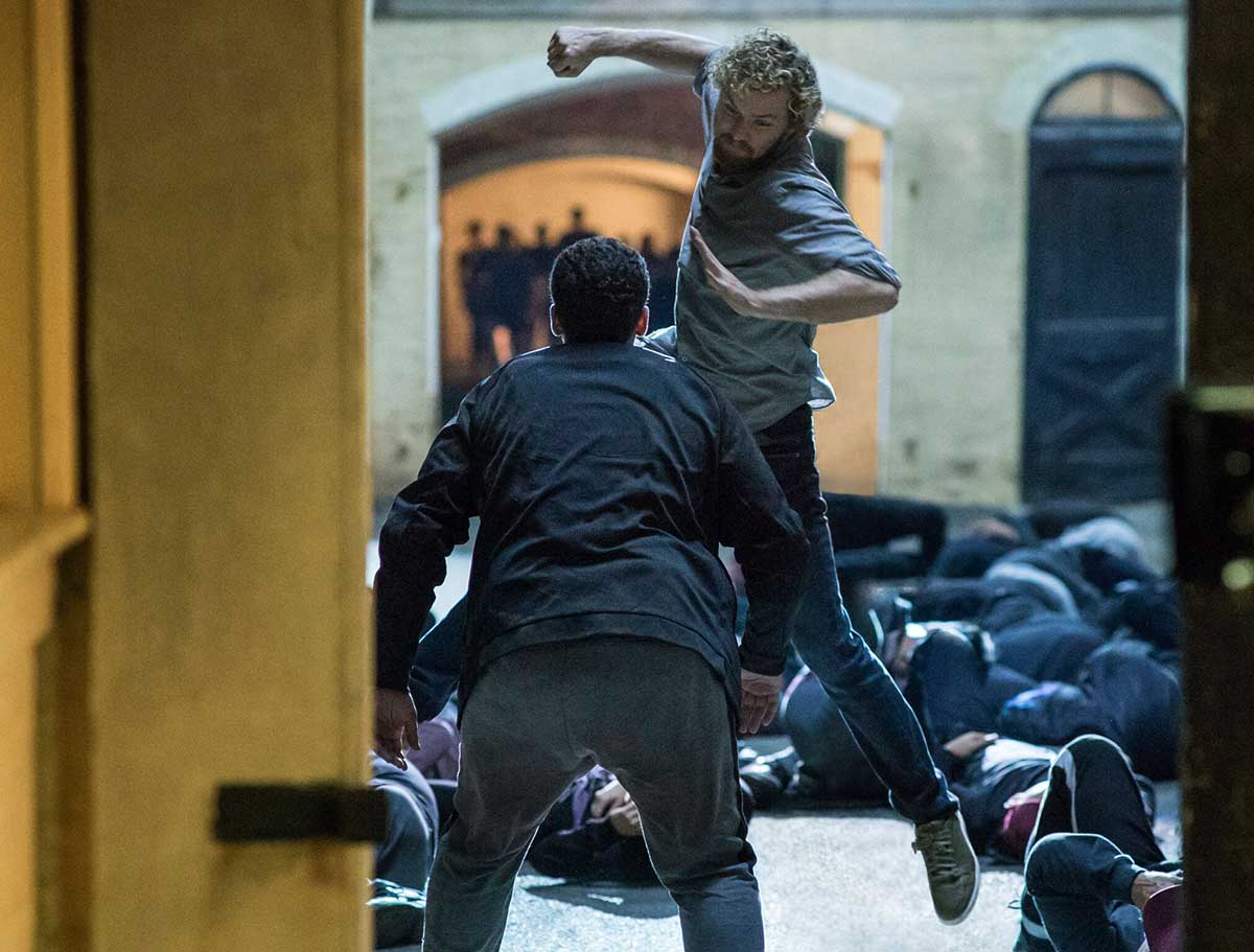 Finn Jones som Danny Rand / Iron Fist i Marvel's Iron Fist.