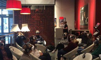 Slik ser det ut når publikum går på «virtuell kino» på Ringen Kino i Oslo. Foto: NFK
