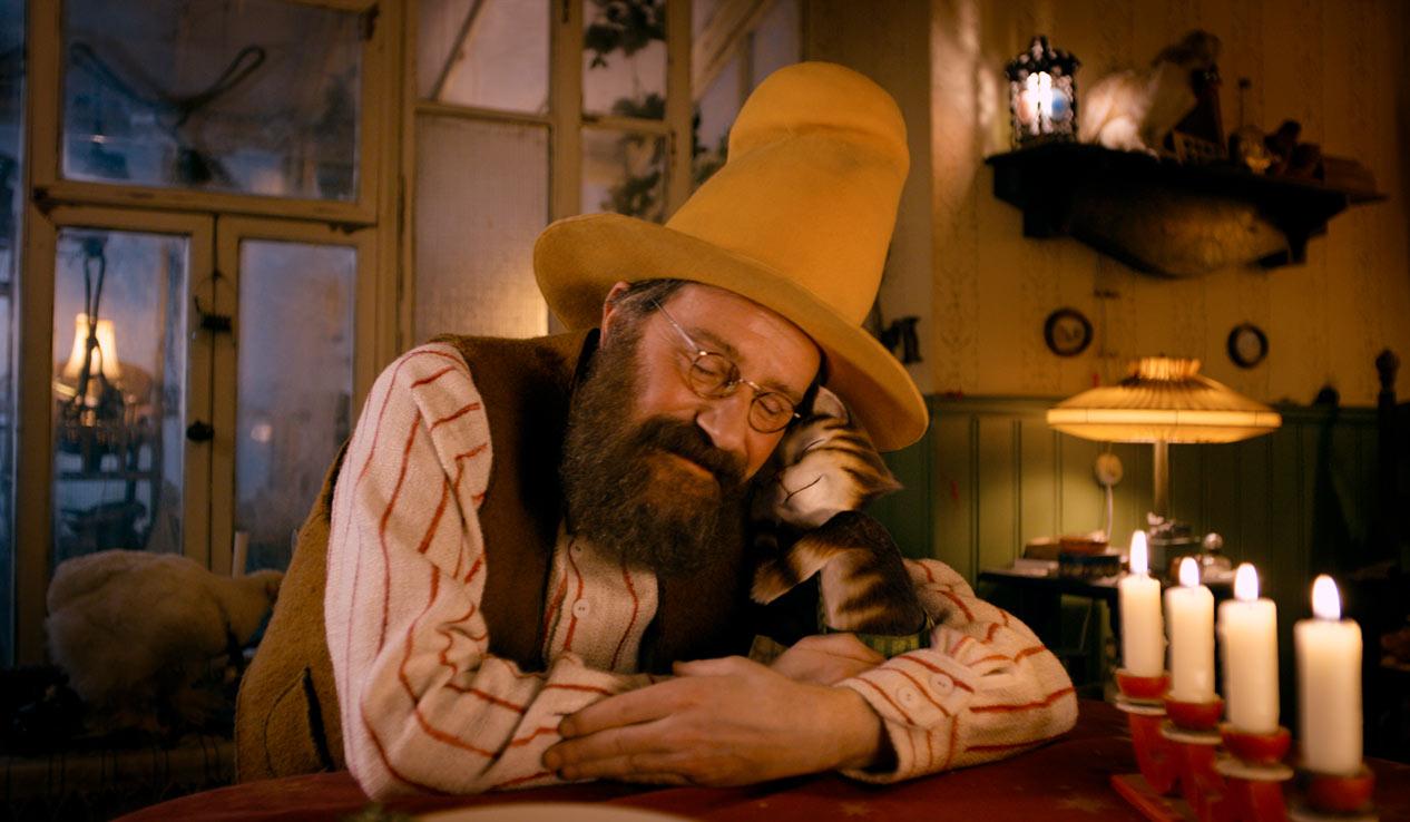 TO GODE VENNER: Gubben og Katten sitt vennskap er varmende og sjarmerende.