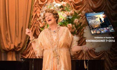 Florence Foster Jenkins hadde kinopremiere 04.11.2016.  Saken er hentet fra KINOMAGASINET 7•2016 SOM DU KAN LESE DIGITALT NEDERST I ARTIKKELEN.