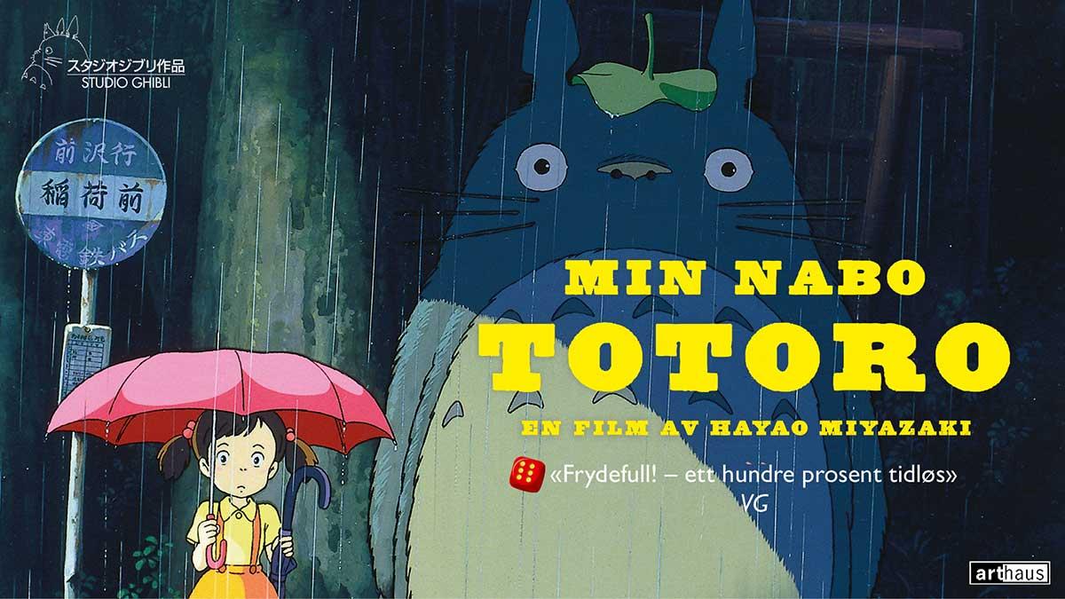 18 år gammel film med stor kinolansering: Min nabo Totoro.