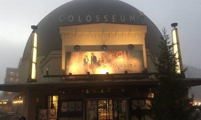 Colosseum Kino i Oslo prydet med reklame for Fabeldyr og hvor de er å finne. Foto: Per Mork, KINOMAGASINET