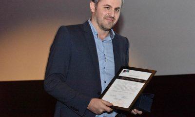 Adm. direktør Ørjan Taule mottok Fremtidens Kino-prisen for innovasjon på vegne av Unique Cinema Systems (UCS) og Unique Digital. Foto: John Berge, KINOMAGASINET.