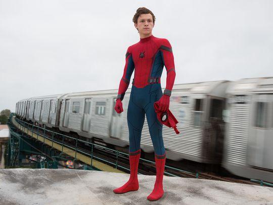 Tom Holland som Peter Paker alias Spider-Man.