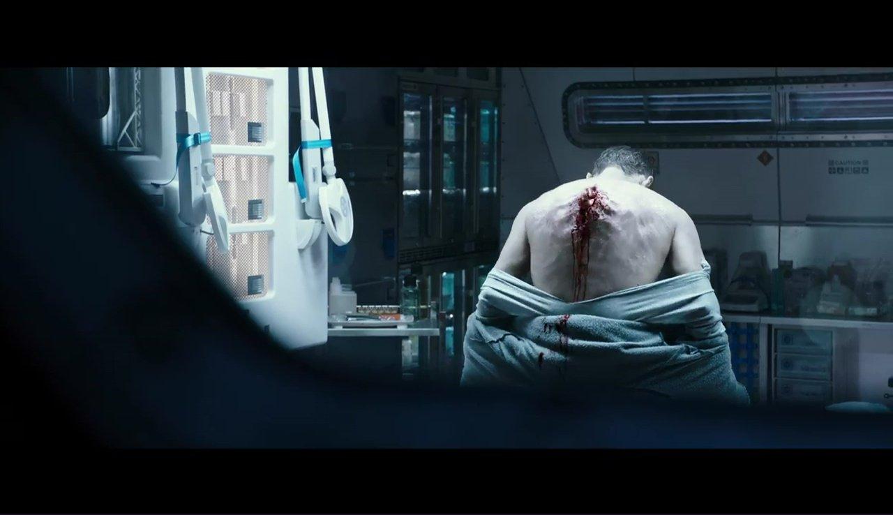 Bilde fra traileren til Alien: Covenant.