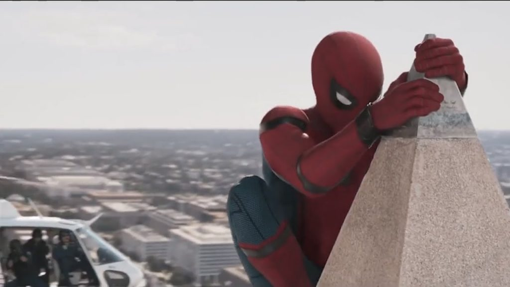 Glimt fra første trailer for Spider-Man: Homecoming.