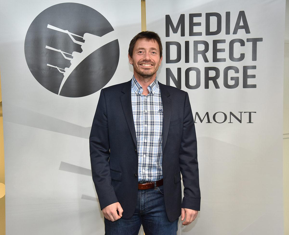 Administrende direktør Ronny Lieblein i Media Direct Norge. Foto: John Berge, KINOMAGASINET.no ©
