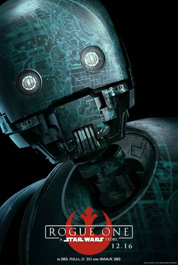 Alan Tudyk som K-2SO.