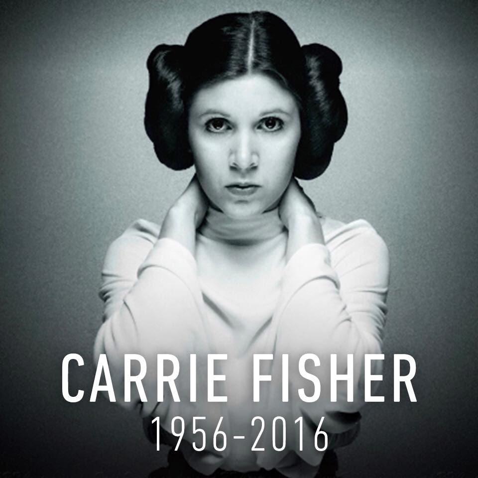 Slik hedrer den offisielle Star Wars-siden Carrie Fisher.