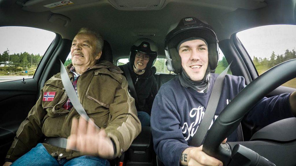 Fra venstre: Martin Schanke, Prebz og Dennis. Foto: North Sea Productions AS