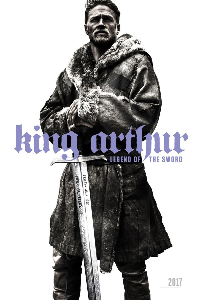 Charlie Hunnam som Kong Arthur i Guy Ritchies King Arthur: Legend of the Sword.