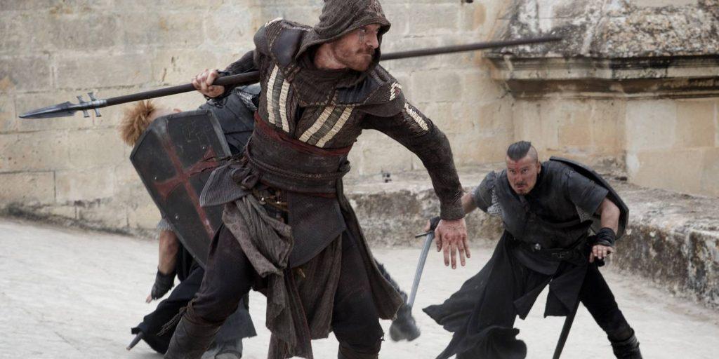 Michael Fassbender som Aguilar i Assassin's Creed.