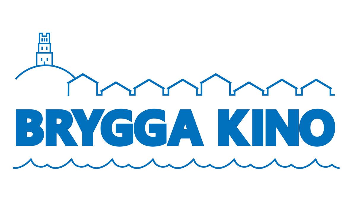 Den nye, offisielle logoen for Brygga Kino i Tønsberg.