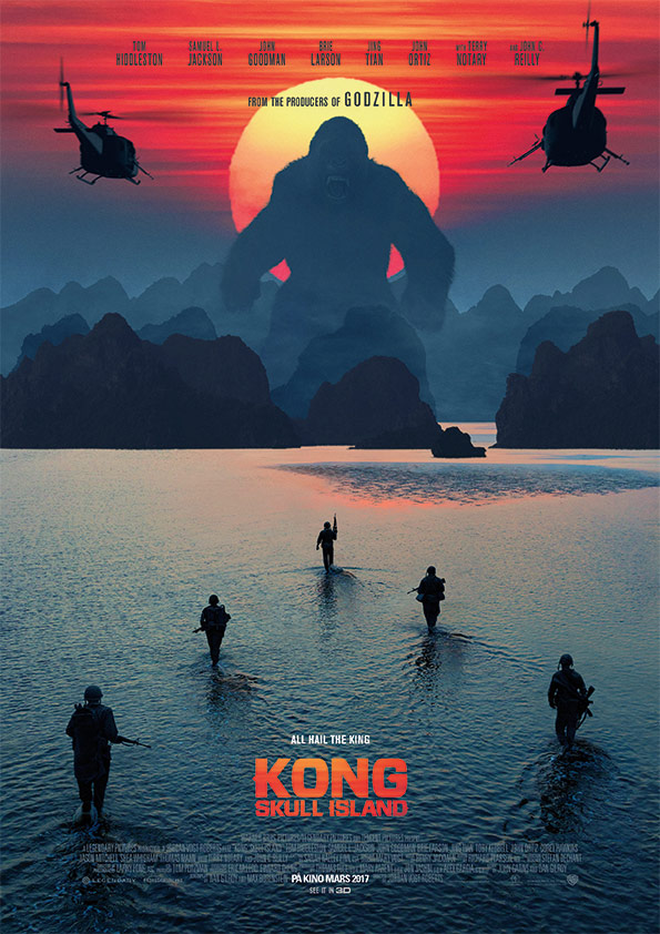 Første 4D-film i Norge er Kong: The Skull Island. De fleste storfilmer kommer med egne 4DX-versjoner.