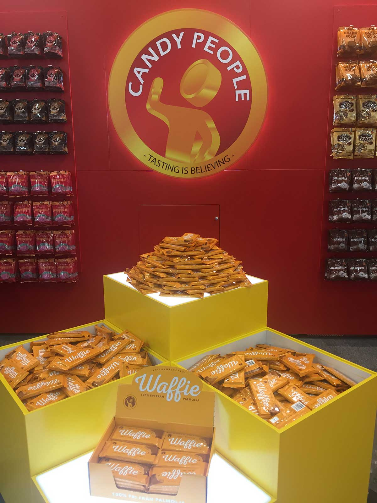Candy People stand på International Sweets and Biscuits (ISM) 2017. Foto: Candy People
