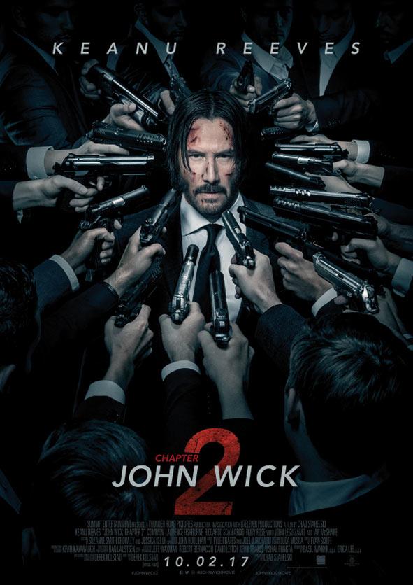 John Wick: Chapter 2 har norgespremiere på kino 10.02.2017.