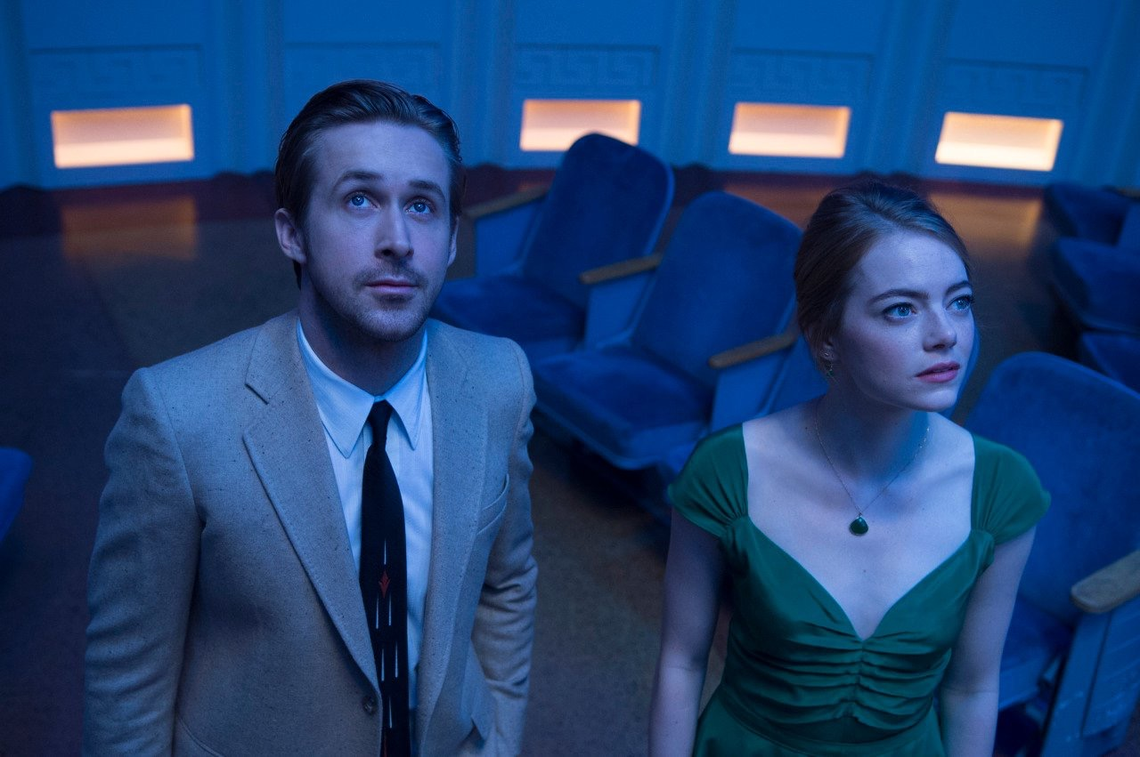 Ryan Gosling og Emma Stone har veldig god kjemi sammen i La La Land