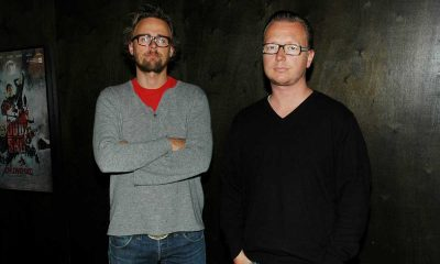 HEDRES AV AMERIKANSK KINOBRANSJE: Joachim Rønning (t.v.) og Espen Sandberg. Arkivfoto: John Berge, KINOMAGASINET ©