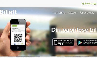 eBillett-systemet leveres av Bodø-firmaet DX.