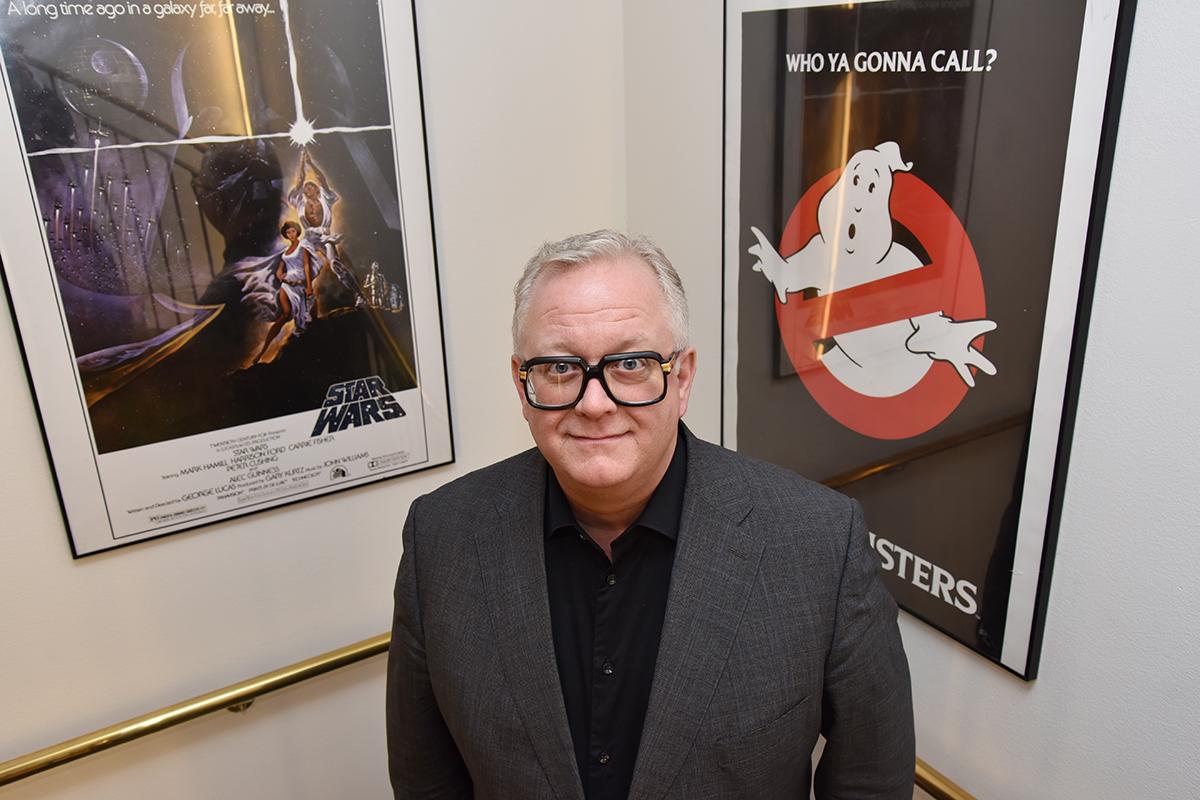 Ivar Halstvedt er adm. direktør SF Kino AS. Her avbildet i selskapets lokaler ved Slottsparken i Oslo i februar 2017. Foto: John Berge, KINOMAGASINET ©