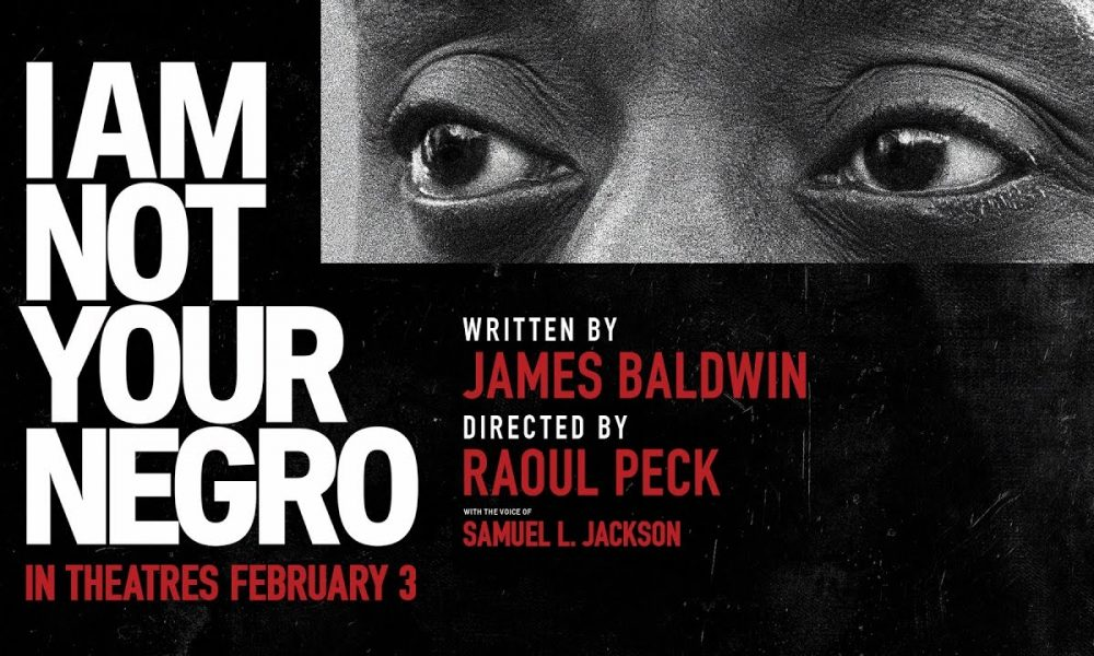 Filmplakat for   I Am Not Your Negro.