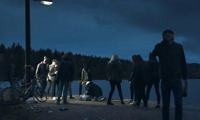 Stillbilde fra reklamefilmen «Vær så snill!» fra Vinmonopolet. Den er den beste kinoreklamefilmen i 2016, mener Gullfilmen-juryen.