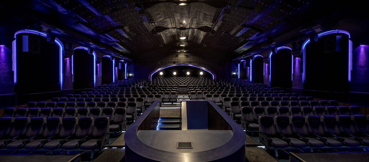 kp1 supersalen hos bergen kino har f tt laserprojektor km. Black Bedroom Furniture Sets. Home Design Ideas